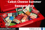 Cabot Cheese Summer Sweepstakes