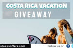 Costa Rica Vacation Giveaway