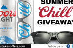 Coors Light Summer Chill Sweepstakes