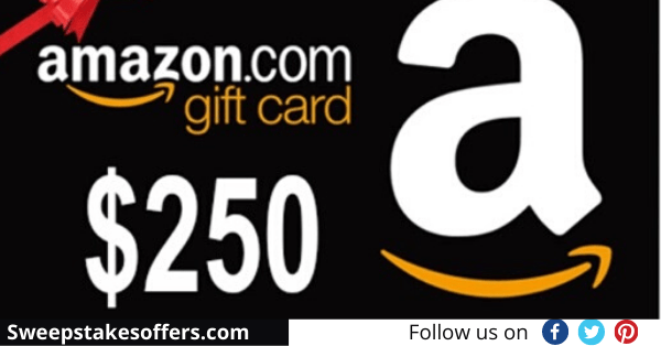 Just Slashed $250 Amazon Gift Card Giveaway