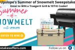 Upslope Summer of Snowmelt Sweepstakes