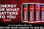 Coke Energy For What Matters to You Sweepstakes