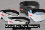 Manta Sleep Mask Giveaway
