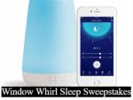 Window Whirl Sleep Sweepstakes