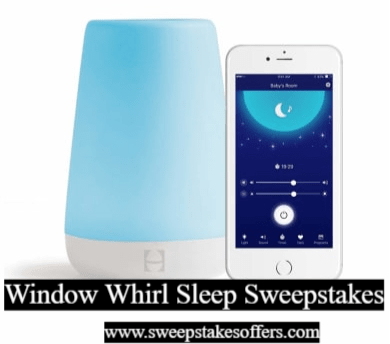 Window Whirl Sleep Sweepstakes