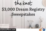 Knot Dream Registry Sweepstakes