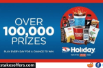 Holiday Station Stores Scratch & Match Instant Win Game