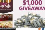 Divine Eats $1000 Gift Card Giveaway