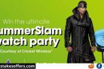 Cricket Wireless SummerSlam Sweepstakes