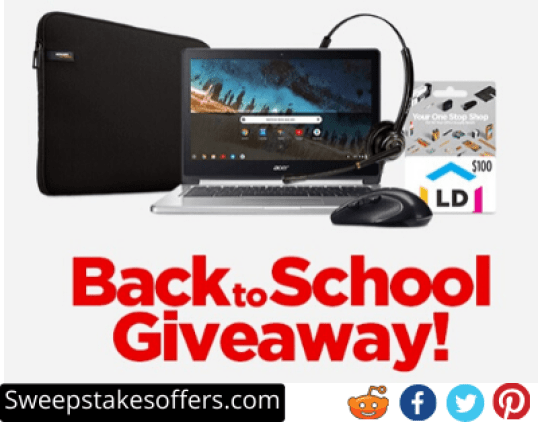 LD Products Back To School Giveaway