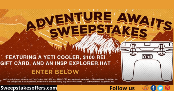 INSP Adventure Awaits Sweepstakes