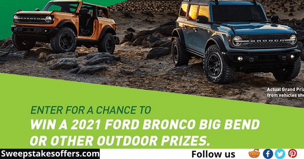 Pepsi MTN Dew Claim the Outdoors Sweepstakes