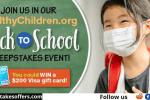 HealthyChildren Back to School Sweepstakes