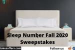 Sleep Number Fall 2020 Sweepstakes
