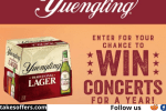 Yuengling Spread Your Wings Concert Tour Sweepstakes
