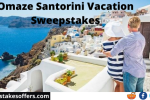 Omaze Santorini Vacation Sweepstakes