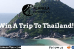 Acanela Thailand Sweepstakes