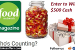 Food Network Who's Counting Contest