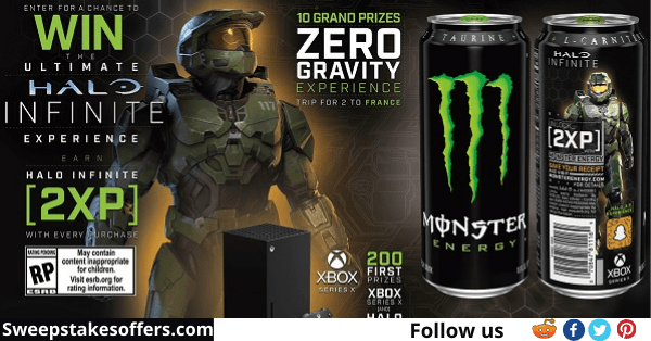 Monster Energy Halo Infinite Sweepstakes