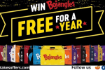 Win Free Bojangles for a Year Giveaway