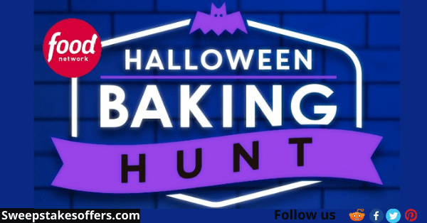 FoodNetwork Halloween Hunt Sweepstakes