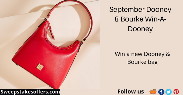 Dooney & Bourke September Win a Dooney Giveaway