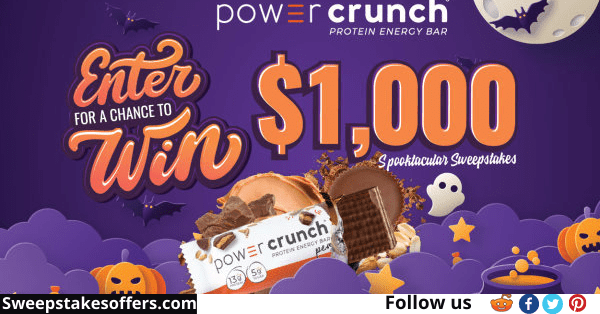 Power Crunch Spooktacular Sweepstakes