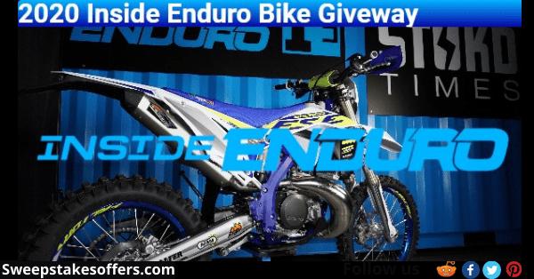 Inside Enduro Bike Giveaway