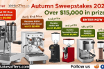 iDrinkcoffee Annual Autumn Sweepstakes