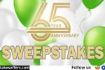 Sullivan Tire 65th Anniversary Sweepstakes