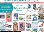 Meredith Corporation Happy Holidays Sweepstakes