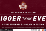 Dr Pepper Tuition Giveaway Contest