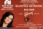 Red Barn Sessions Sweepstakes