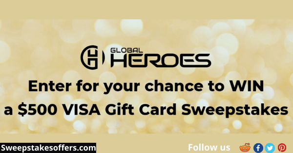Global Heroes Visa Gift Card Sweepstakes