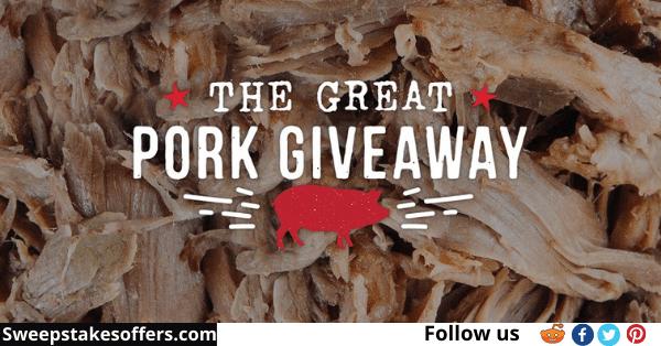 Sonnys BBQ Great Pork Giveaway