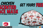 Jack In The Box Chicken Scented Face Mask Giveaway