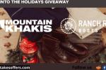 Mountain Khakis Head Into The Holidays Giveaway