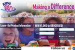 Making a Difference Kids360charity.org Sweepstakes