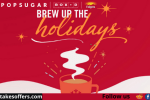 PopSugar x Folgers Brew up the Holidays Sweepstakes