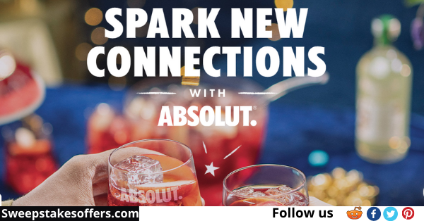 Absolut.com/absolutholidaysweeps
