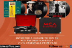 Umg Nashville Mca Vinyl Prize Package Sweepstakes