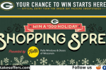 Green Bay Packers Holiday Shopping Spree Sweepstakes