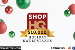 ShopHQ $10000 Holiday Sweepstakes