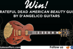 D Angelico Guitars Dead American Beauty Guitar Giveaway