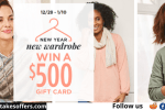 Christopher & Banks Win A Wardrobe Sweepstakes