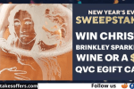 QVC New Year Eve Sweepstakes