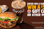 Burger King $500 Gift Card Giveaway