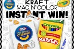 Kraft Mac N' Color Instant Win Game