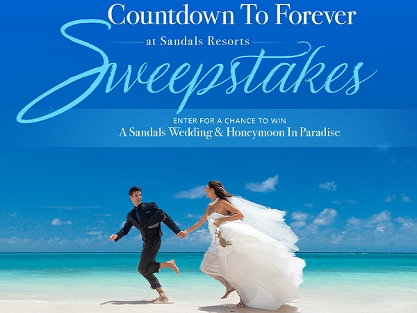 Sandals Resorts Countdown to Forever Sweepstakes