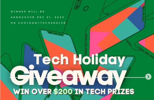 Tech Holiday Giveaway